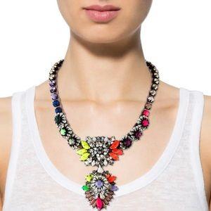 Shourouk Cora Zambia Rainbow Braided Necklace